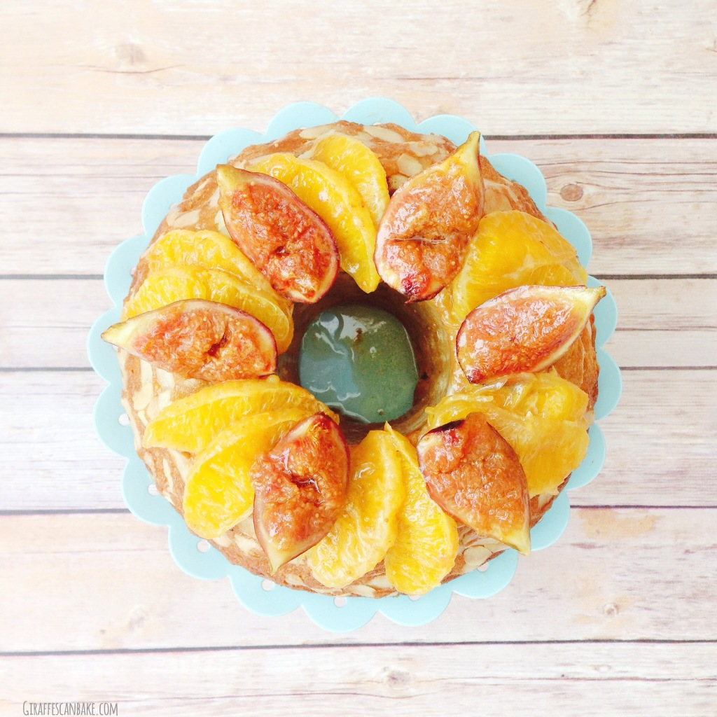 Fig and Orange Kugelhopf