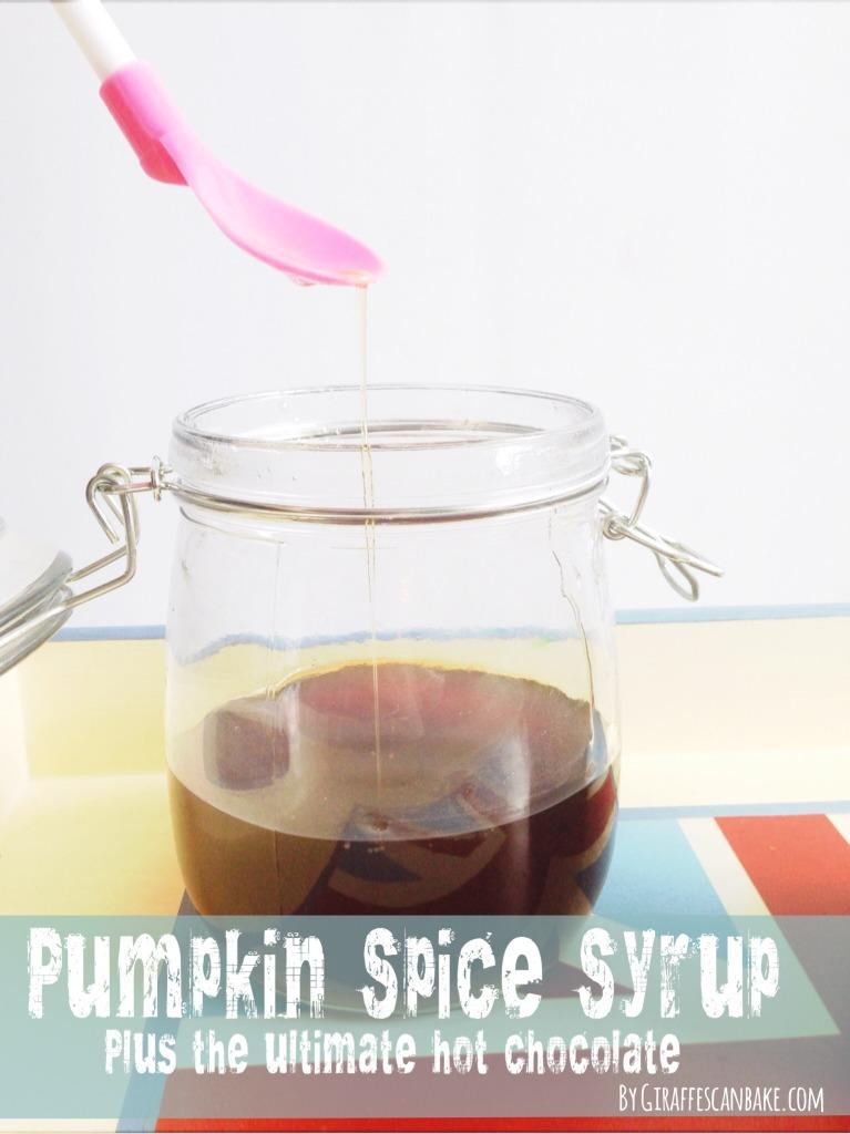 Copycat Starbucks Pumpkin Spice Syrup