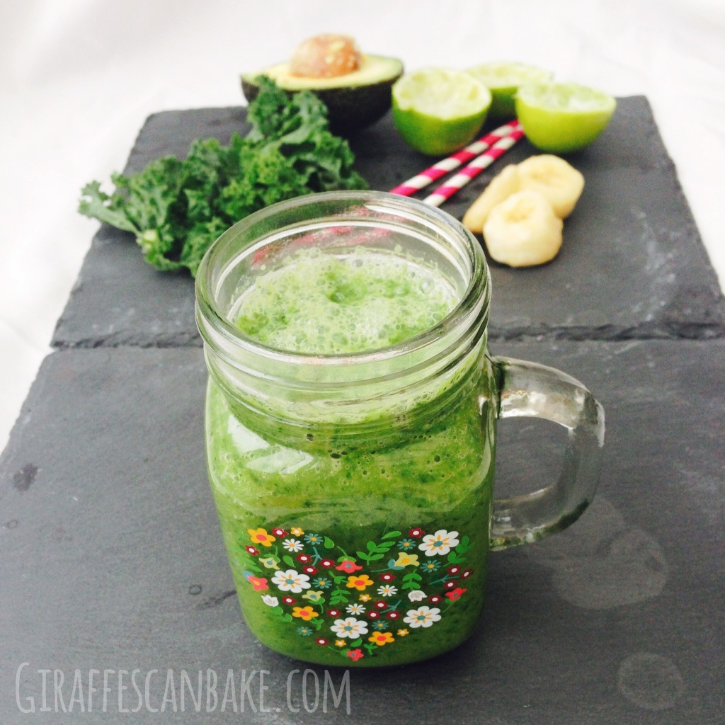 Avocado Banana Kale Smoothie