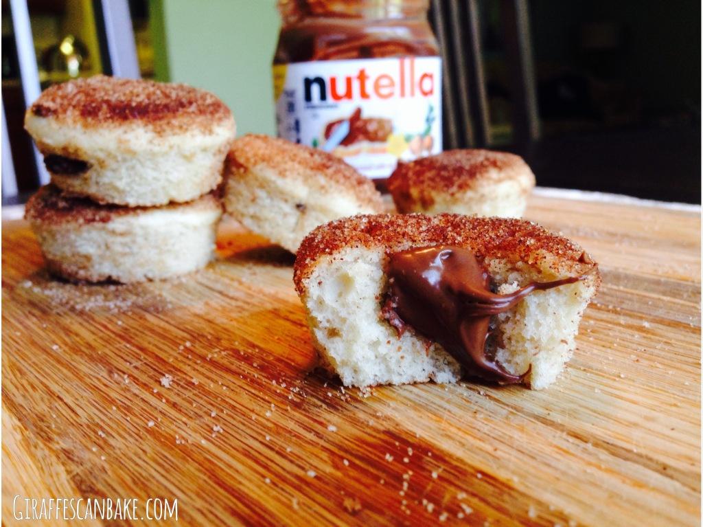cinn donut muffins