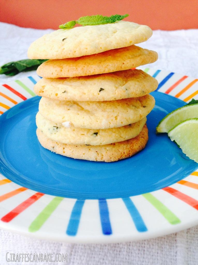 Mojito Cookies