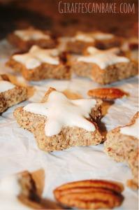 German Cinnamon Stars with Pecans