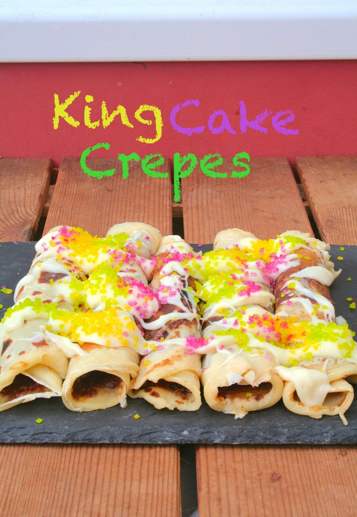 king cake crepes