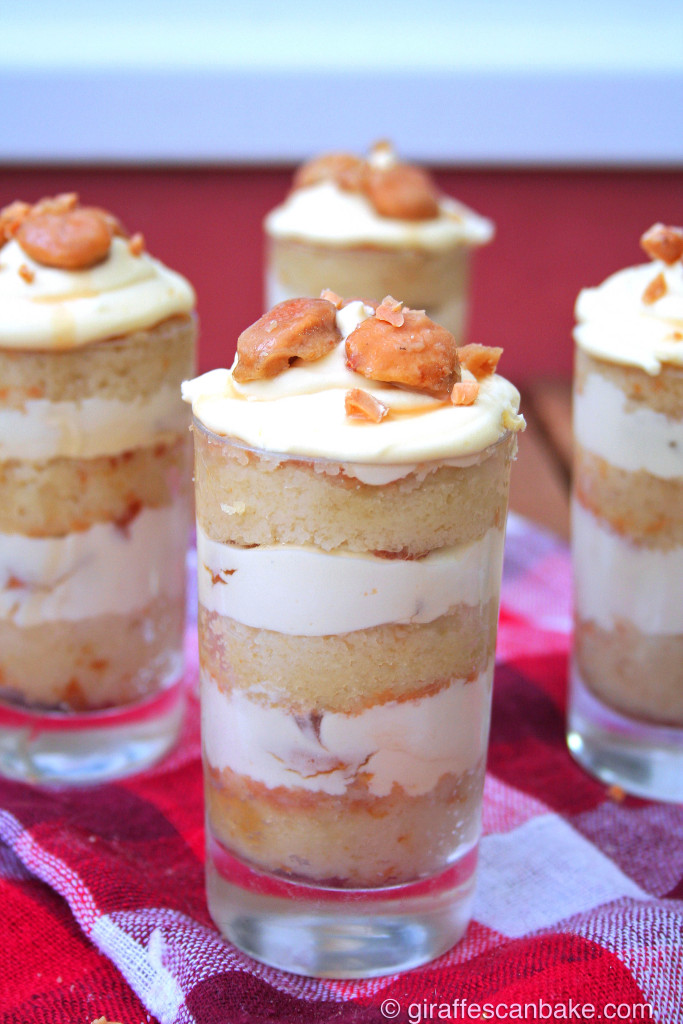 Amaretto Crunch Dessert Shots