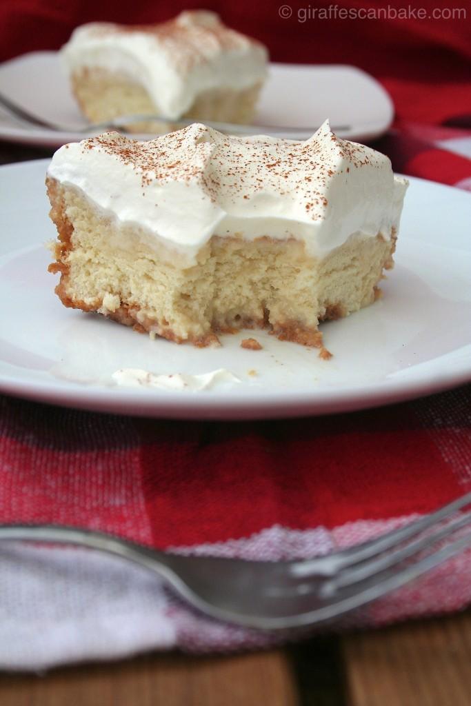 Cinnamon Tres Leches Cake