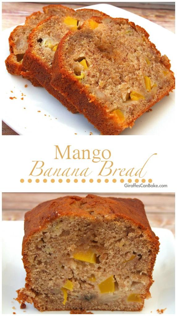 Mango Banana Bread