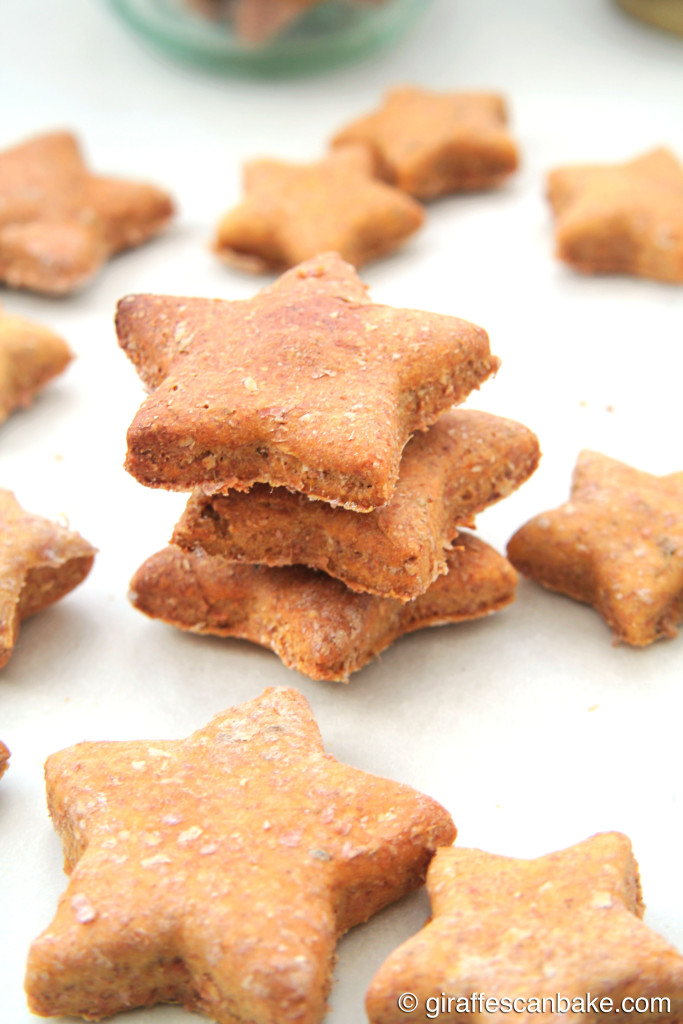 Homemade Dog Treats with Aniseed - your dogs will go mad for these easy to make treats, and you'll be happy pet parent knowing only natural ingredients go into them! Aniseed is like catnip for dogs, they'll love it!