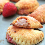 Strawberry Chili Cheesecake Empanadas by Giraffes Can Bake - buttery, flaky pie crust with a sweet and spicy cheesecake filling